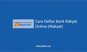 Cara Daftar Akaun Bank Rakyat Online