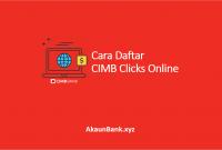Cara Daftar CIMB Clicks
