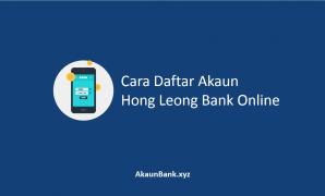 Daftar Akaun Hong Leong Bank Online