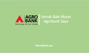 Semak Baki Akaun Agrobank