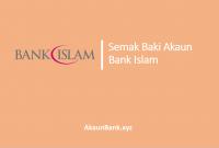 Semak Baki Akaun Bank Islam