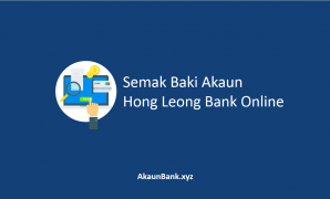 Semak Baki Akaun Hong Leong Bank Online