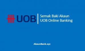 Semak Baki Akaun UOB Online