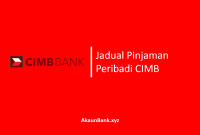 Jadual Pinjaman Peribadi CIMB
