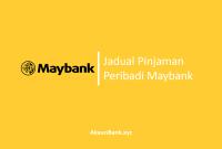 Jadual Pinjaman Peribadi Maybank