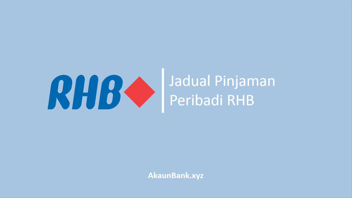 Jadual Pinjaman Peribadi RHB