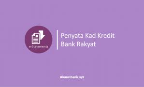 Penyata Kad Kredit Bank Rakyat