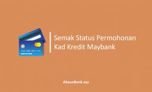 Semak Status Permohonan Kad Kredit Maybank