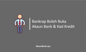 Bankrap Boleh Buka Akaun Bank