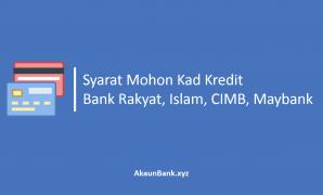 Syarat Mohon Kad Kredit