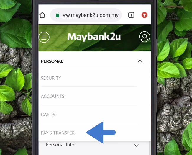 Had Transfer Maybank2u