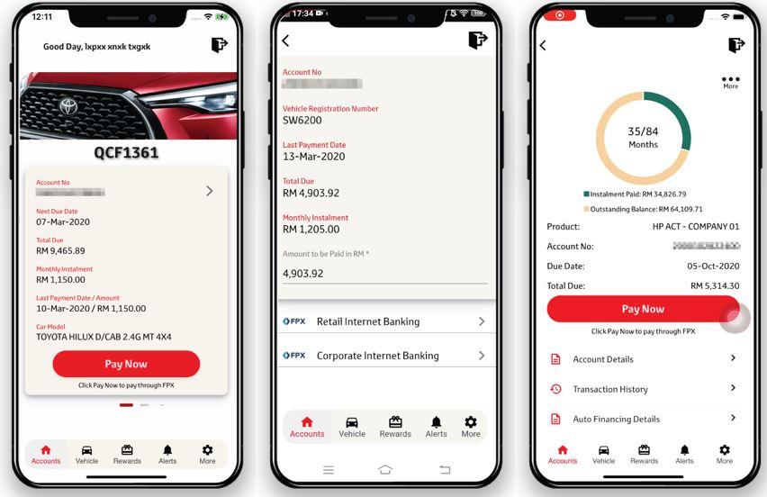 Semak Baki Pinjaman Toyota Capital Online